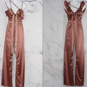 Fashionova Pink Jumpsuit (XS)